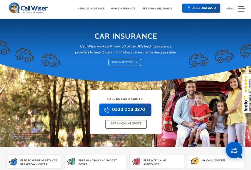 Be Wiser Car Insurance >> Call Wiser Making Websites Better