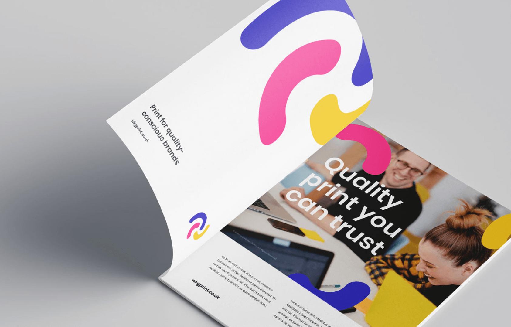 WKG Print brochure design