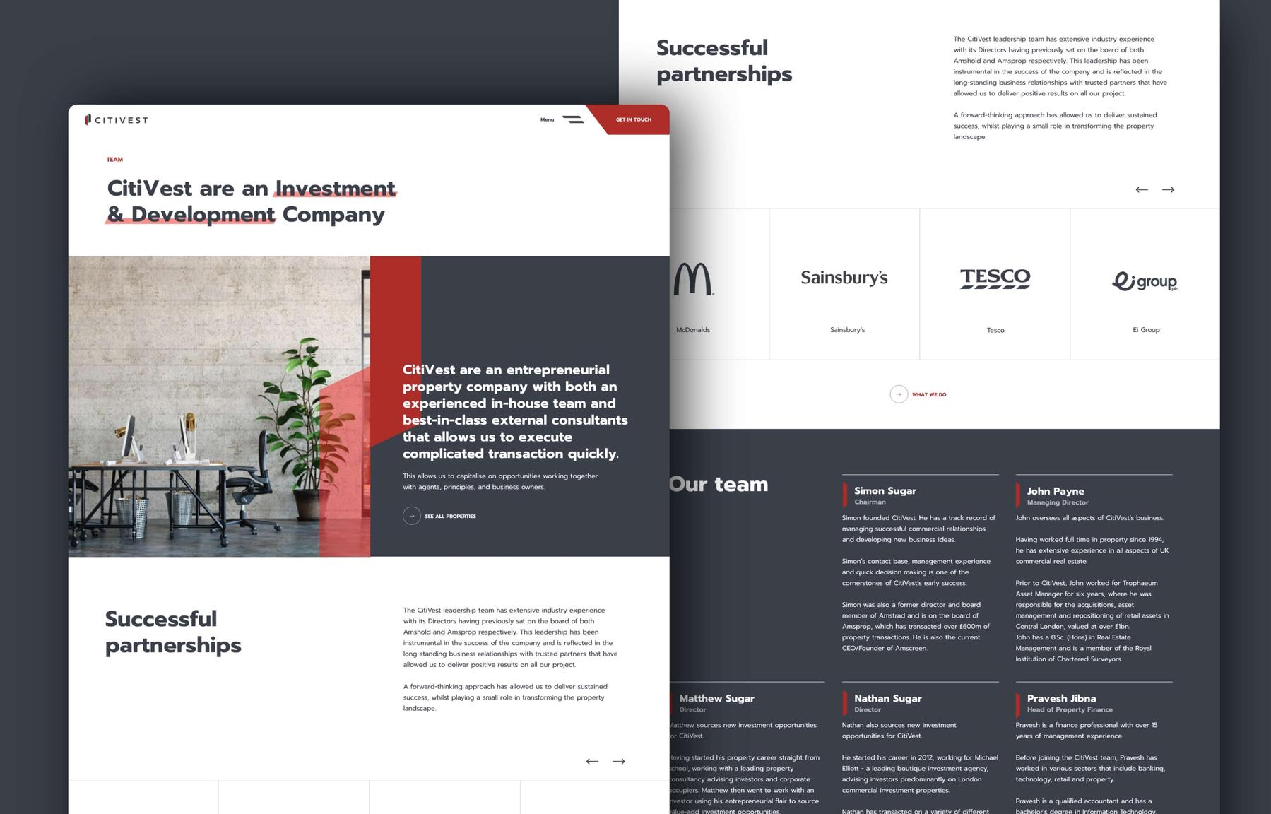 Citivest | Making Websites Better