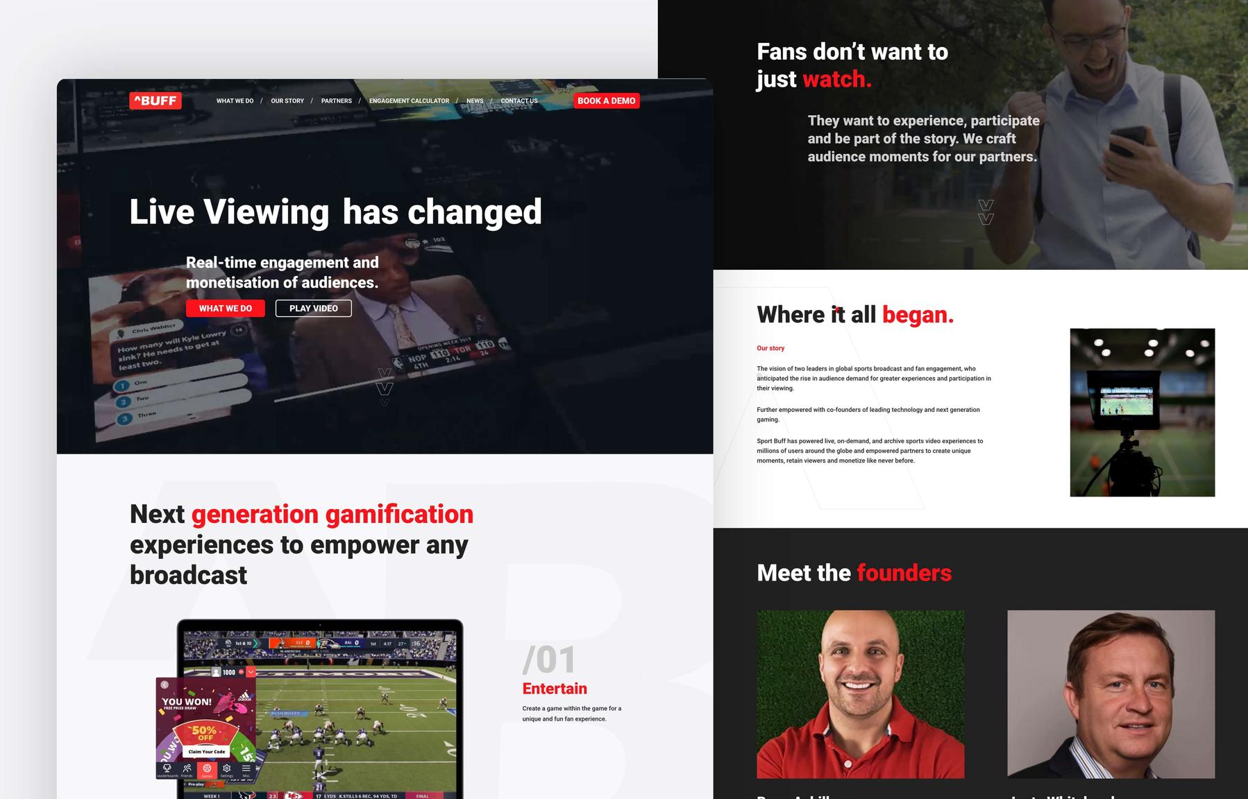Sport Buff | Making Websites Better