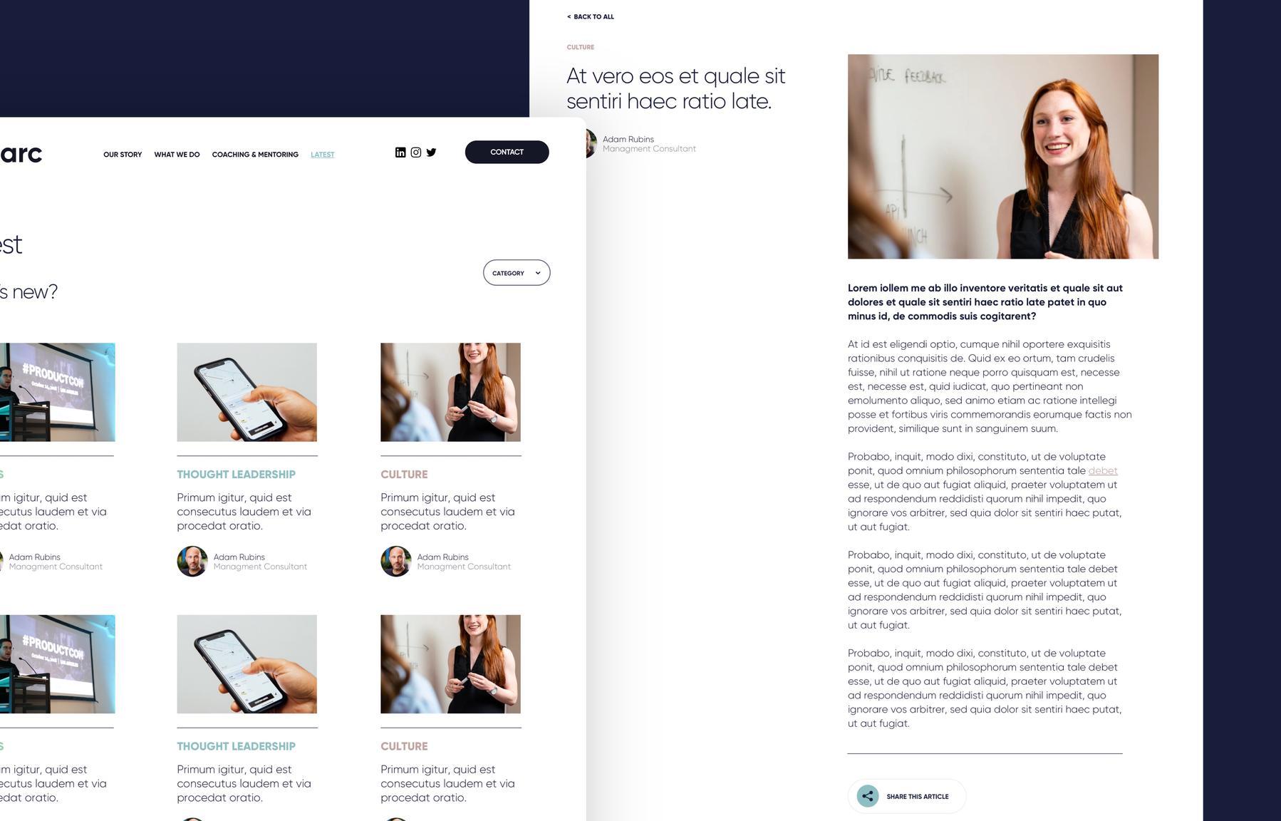 The Arc | Making Websites Better